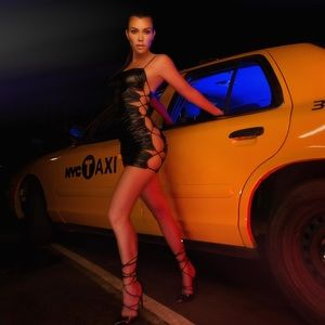 PLT Kourtney Kardashian Collection Cut out Dress